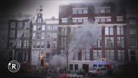Huurhuis brandt af, Ymere herstelt woning slechts deels