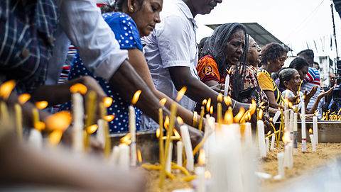 Reisadvies Sri Lanka naar 'geel'}