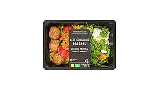 Door fout kip en selderij in AH couscous falafel