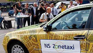 NS zonetaxi op 244 extra stations beschikbaar