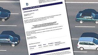 Valse mail Drime Vision over verkeersboete