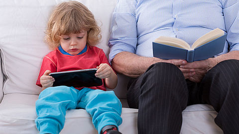 Kinderen vaker bijziend door smartphone en tablet}