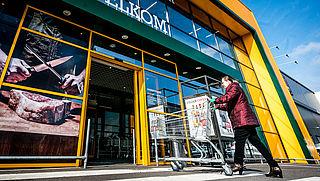Consumenten kunnen weer boodschappen doen bij groothandels