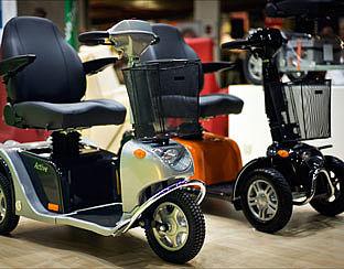 Vaker ongevallen met rijders scootmobiel