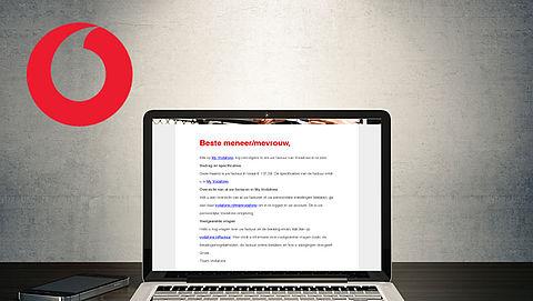 Valse mail uit naam van Vodafone over online factuur}