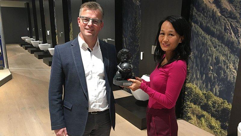 Winnaar Loden Radioleeuw 2017: Geberit