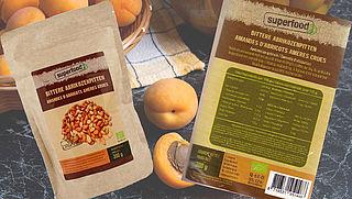 Abrikozenpitten van Superfoodz teruggeroepen
