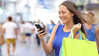 Online shoppen via smartphone voor het eerst populairder dan via tablet