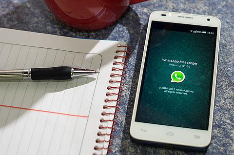 WhatsApp door Duitse consumentenbond aangeklaagd }