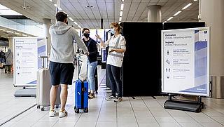 Teststraat Schiphol gesloten, geen coronatest meer mogelijk op luchthaven