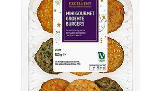 Vegetarische gourmetburgers Albert Heijn uit schap gehaald