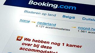 Website booking.com aangepast na kritiek ACM