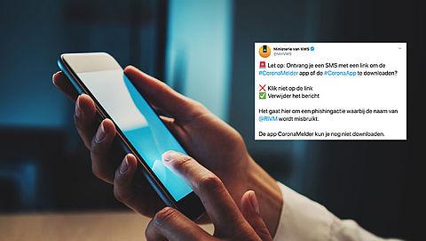 Ministerie waarschuwt voor nep-sms over CoronaMelder