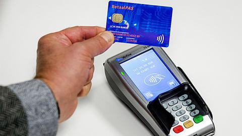 'Contactloos betalen maakt pinnen goedkoper voor winkelier'