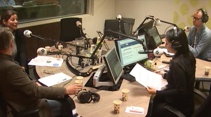 Radio-uitzending 25-02-2017