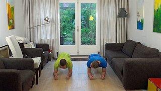 Thuis trainen met deze 7 Minute Workout (zwaardere variant)