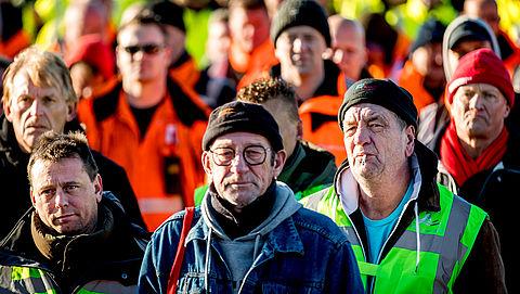 Vakbonden voeren actie voor beter pensioen}