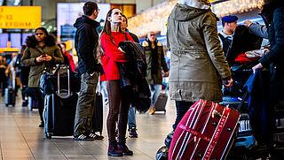 'Kans op forse vertragingen door strengere controles op vliegveld'