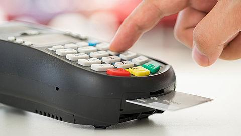 Aantal contante betalingen daalt verder