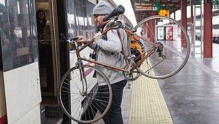 Reserveren en ruimtegebrek hinderen treinreis met fiets