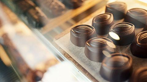 Minder snoepwinkels maar wel meer chocoladezaken}