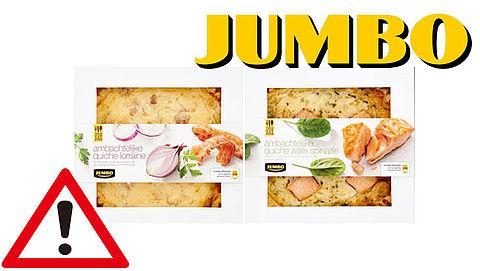 Let op: Jumbo haalt quiches uit het schap