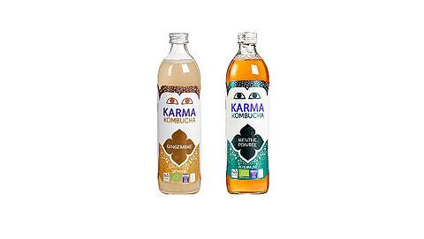 Fles KARMA Kombucha kan ontploffen}