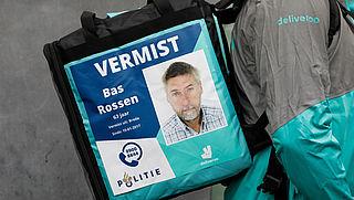 Deliveroo-bezorgers gaan poster van vermisten op tas dragen
