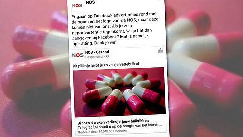 Let op! Facebookspam zogenaamd van Nederlandse media