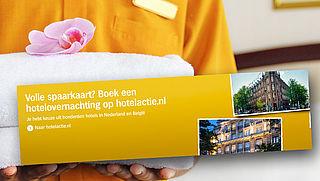 Ophef over hotelactie Albert Heijn
