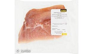 Risico op salmonella in ham van Jumbo