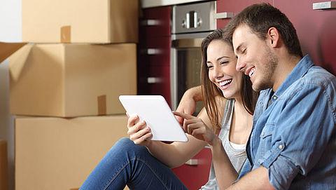Groei aantal huizenkopers onder 25 jaar}