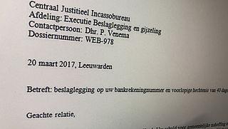 Valse mail 'CJIB' over hechtenis en bankrekeningblokkade