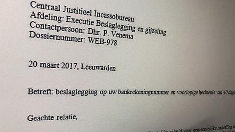Valse mail 'CJIB' over hechtenis en bankrekeningblokkade}