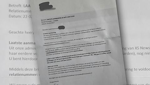 Brief over openstaande vordering XS News? Betaal niet!