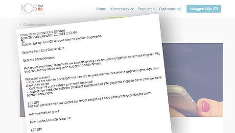 Trap niet in deze nep-ICS-mail over 'bijwerken van je account'}