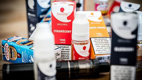 Verbod op e-sigaret met fruitsmaakjes