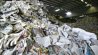 Toename vervuiling oud papier