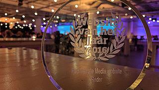 Radar is populairste mediawebsite van 2016