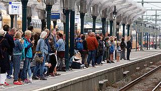 Meer dan 2500 treinen gestrand in 2018