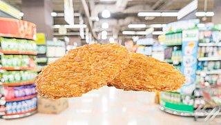 Krokante kipschnitzels van diverse supermarkten teruggeroepen wegens listeriabacterie