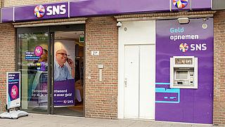 Automaten SNS afgesloten tegen plofkraken