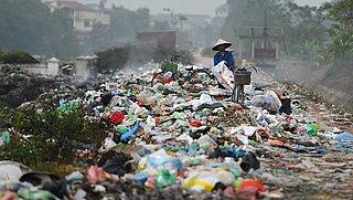 'Westers plastic afval niet gerecycled maar illegaal verbrand'