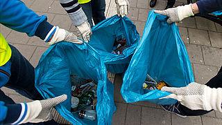 NS breekt met belofte afval te scheiden