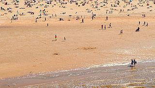 Stranden nemen dit weekend extra maatregelen om drukte te voorkomen
