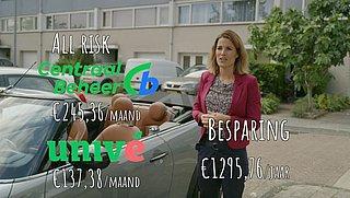 Dezelfde autoverzekering als je buurman, toch honderden euro's meer kwijt