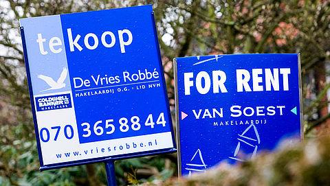 Hypotheekverstrekkingen nemen af vanwege krapte op de woningmarkt