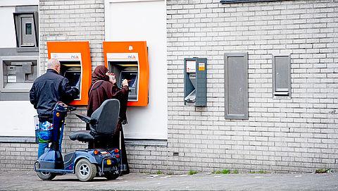 Flinke veranderingen in netwerk van pinautomaten