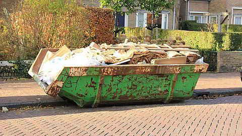 Prijs voor plaatsen afvalcontainer verschilt per stad