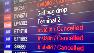 Honderden vluchten SAS geschrapt vanwege stakingen